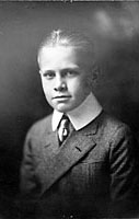 Gerald Ford as a young boy