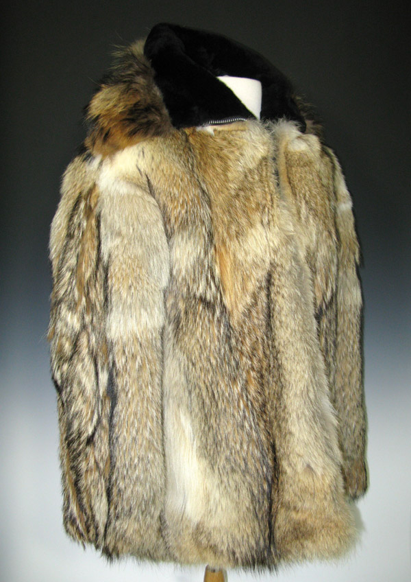 Gerald Ford Library Selected Artifact Wolf Skin Fur Coat