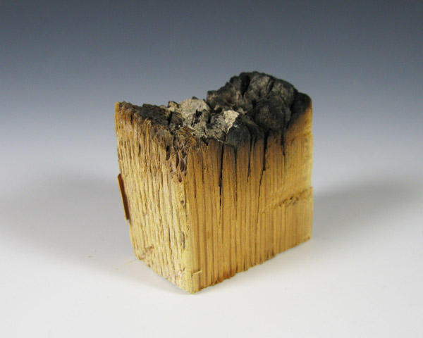 Gerald Ford Library Selected Artifact Burnt Piece Of