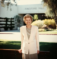 Betty Ford, Chairman and co-founder of the Betty Ford Center since 1982, exerted a hands-on leadership style until 2004, when she became Chairman Emeritus and her daughter Susan Ford Bales assumed the Chairman position. 1990.