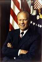 First official portrait of President Gerald R. Ford.