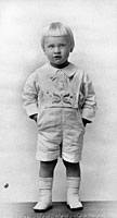 Gerald R. Ford as a young boy