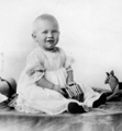 Gerald Ford baby photo