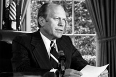photo of President Ford