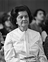 Betty Ford at confirmation hearing