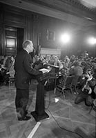 Ford's first press conference as Vice President
