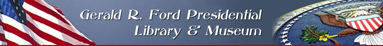 The Gerald R. Ford Presidential Library and Museum Website