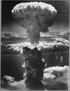 Atomic Cloud Rises Over Nagasaki, Japan , 08/09/1945 - 08/09/1945